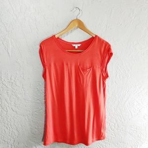 Cabi Grenadine Staple Pocket Tee